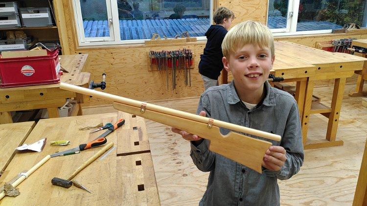 Kindercursus houtbewerken
