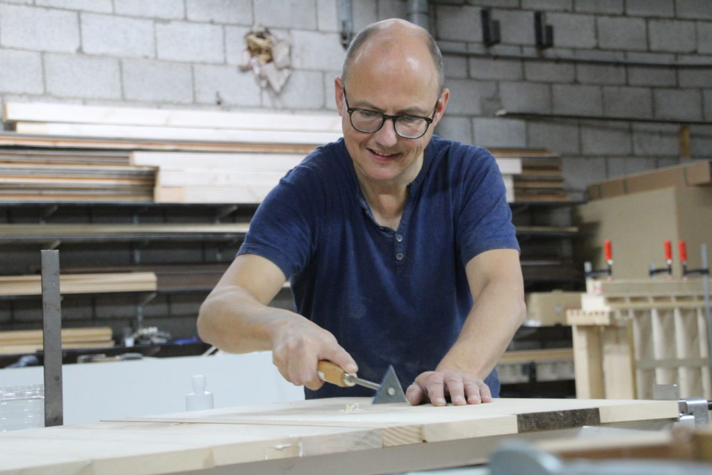 Interview met meubelmaker Mark Ober
