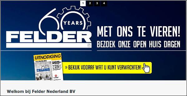 Open huis dagen Felder Nederland