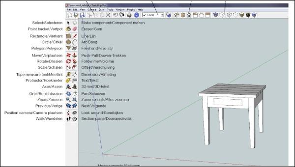 SketchUp voor meubelmakers