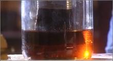 Olie en was, verdicht zonlicht