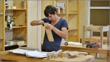 Extra dagdeel Basiscursus 'ambachtelijk meubelmaken'