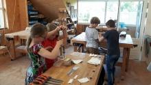 Kindercursus houtbwerken